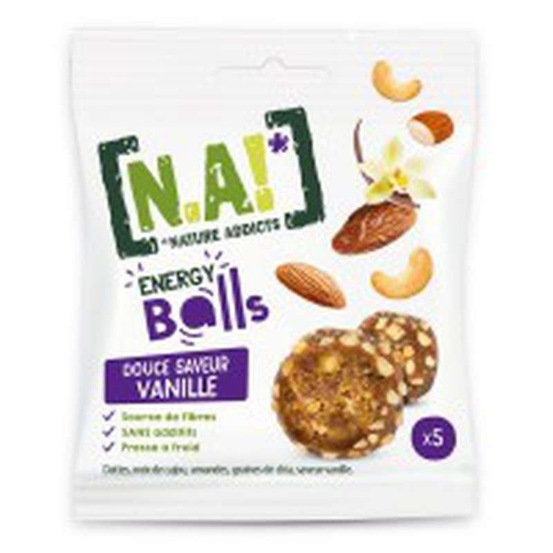 Biscuit apéritif saveur vanille, N.A! (40 g)