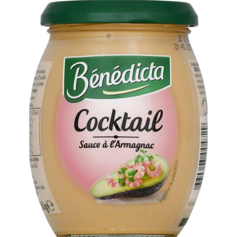 Sauce cocktail, Benedicta (260 g)