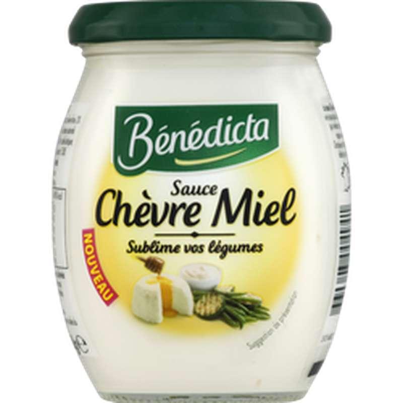 Sauce chèvre miel, Bénédicta (260 g)