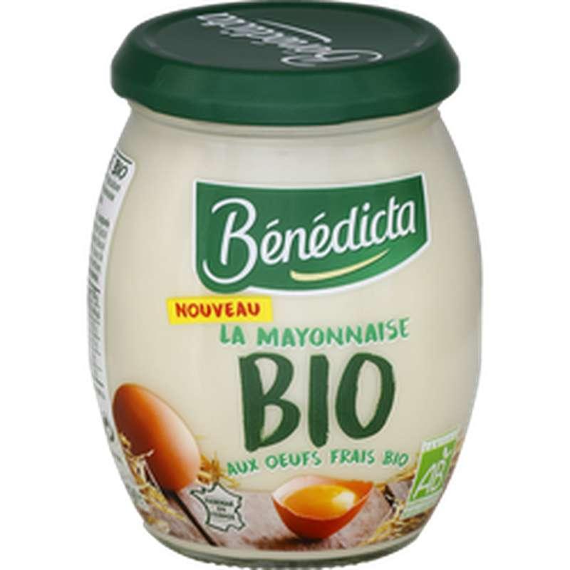 Mayonnaise BIO, Bénédicta (260 g)