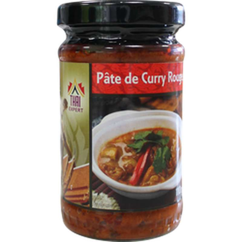 Pâte de curry rouge, Thaï Expert (110 g)