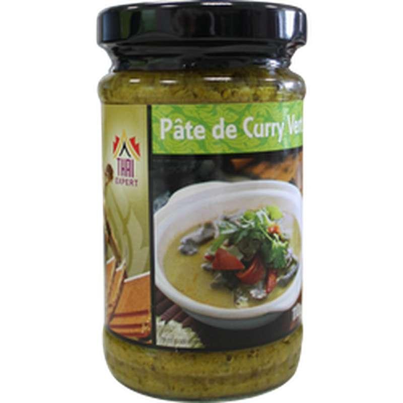 Pâte de curry vert, Thaï Expert (110 g)