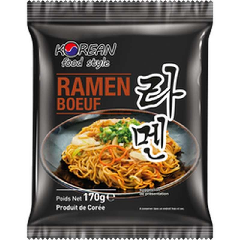 Nouilles ramen au boeuf, Korean Food Style (170 g)