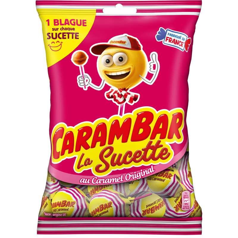 Bonbon sucette caramel, Carambar (156 g)