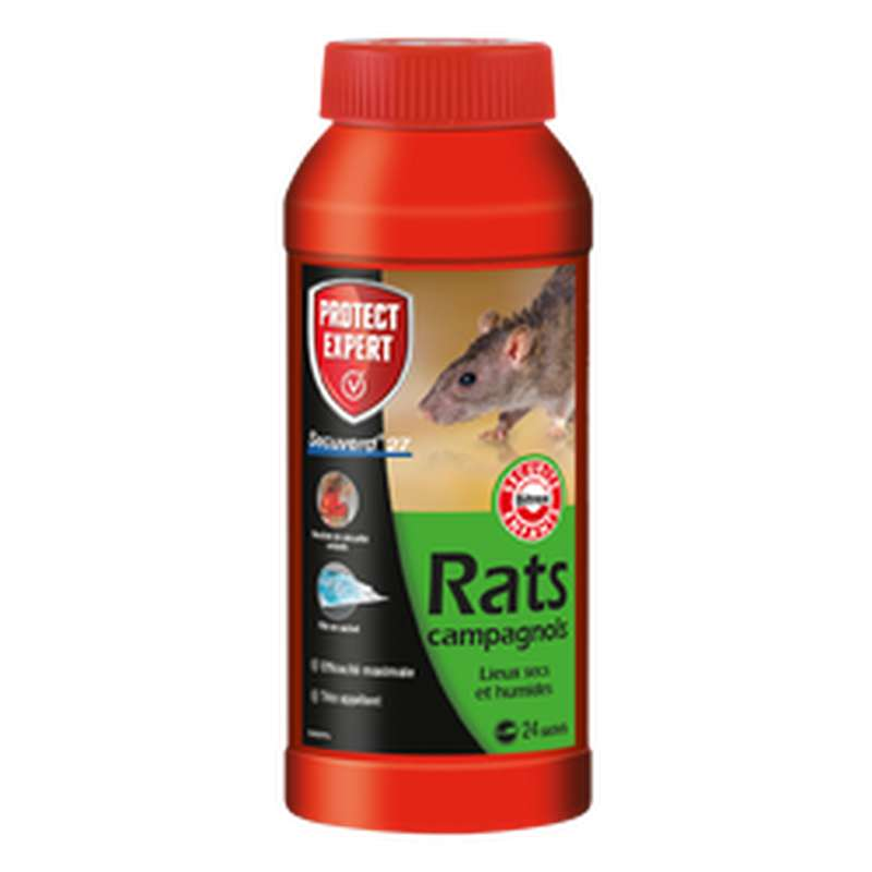 Raticide, Protect Expert (24 x 10 g)
