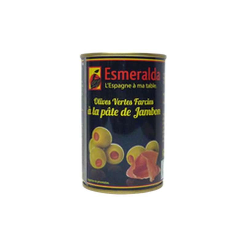 Olives vertes farcies au jambon, Esmeralda (120 g)