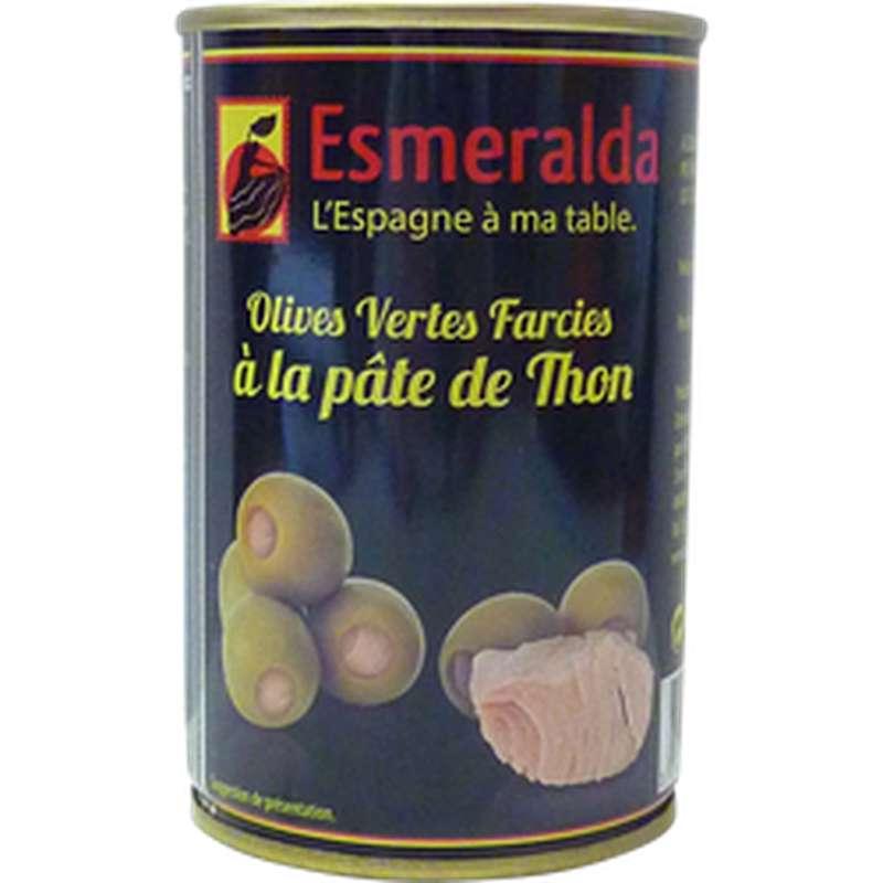 Olives farcies au thon, Esmeralda (120 g)