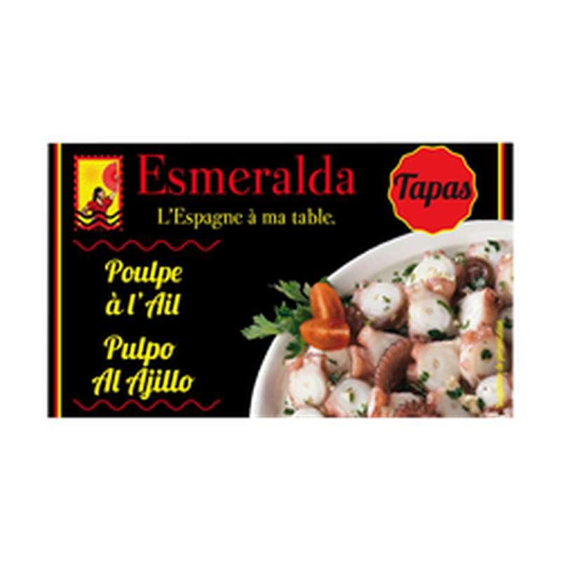 Poulpe à l'ail, Esmeralda (120 g)