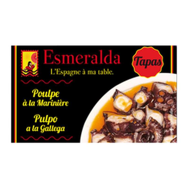 Poulpe à la mariniere, Esmeralda (120 g)