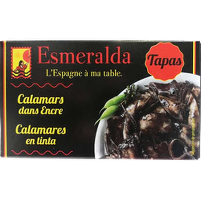 Calamars à l'encre, Esmeralda (120 g)