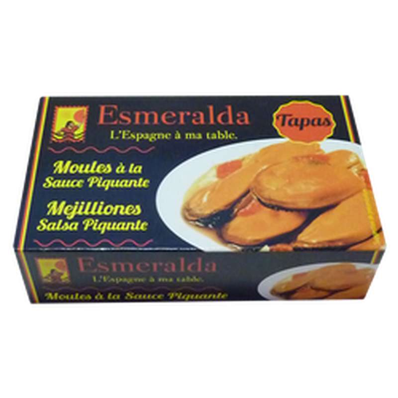 Moules à la sauce piquante, Esmeralda (111 g)