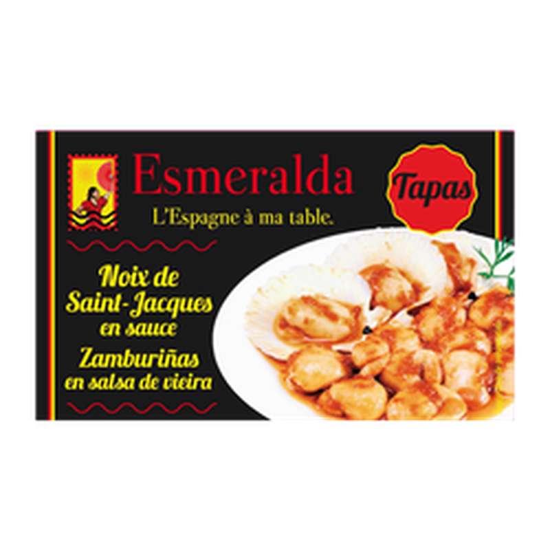Noix de coquilles Saint-Jacques en sauce, Esmeralda (111 g)