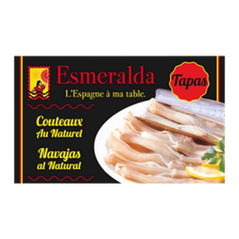 Couteaux au naturel, Esmeralda (111 g)