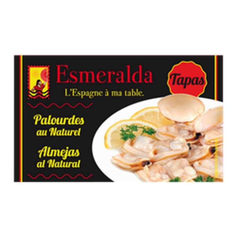 Palourdes au naturel, Esmeralda (111 g)