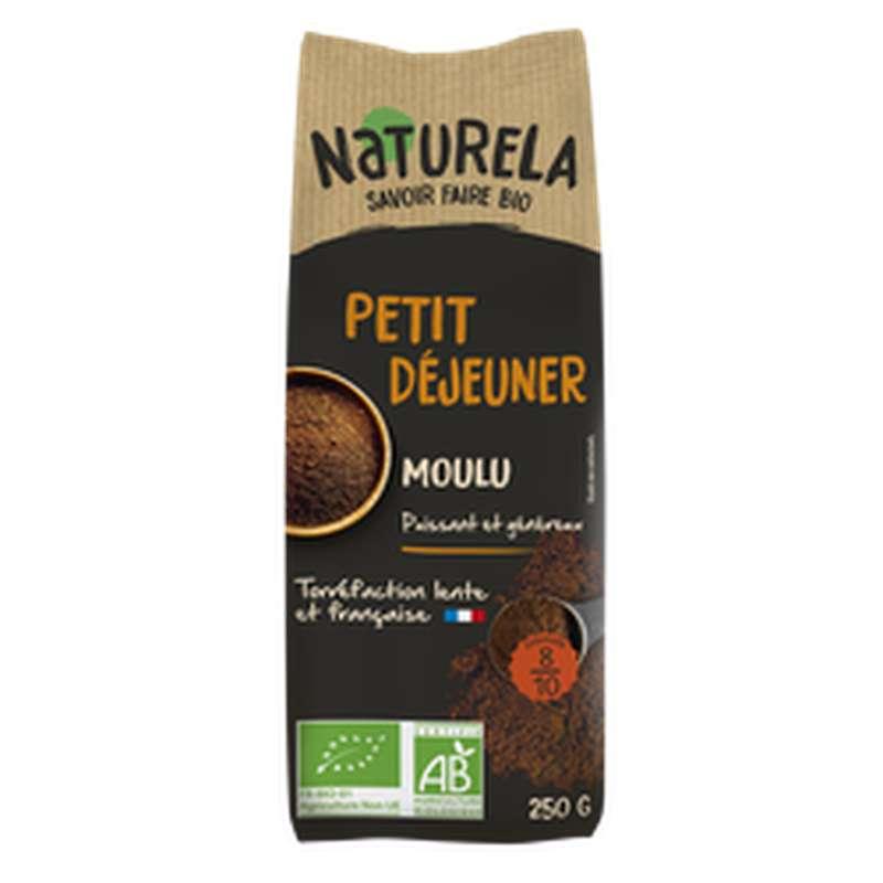 Café moulu Petit Déjeuner BIO, Naturela (250 g)