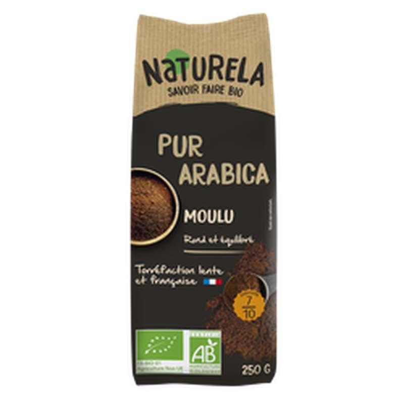 Café moulu Pur Arabica BIO, Naturela (250 g)