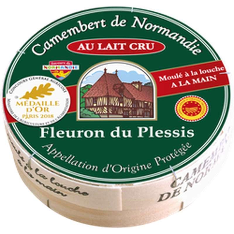 Camembert AOC de Normandie au lait cru, Fleuron du Plessis (250 g)