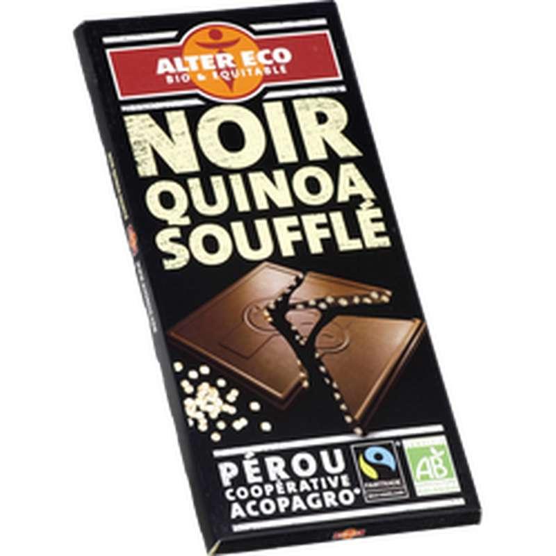 Chocolat noir Quinoa BIO, Alter Eco (100 g)