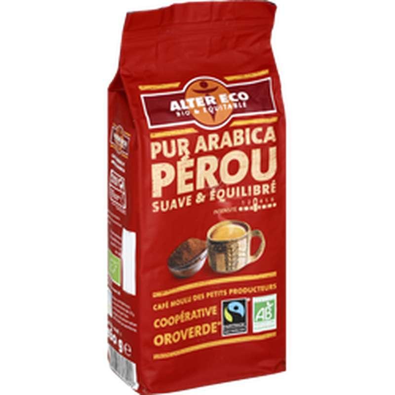 Café moulu 100% arabica BIO, Alter Eco (260 g)