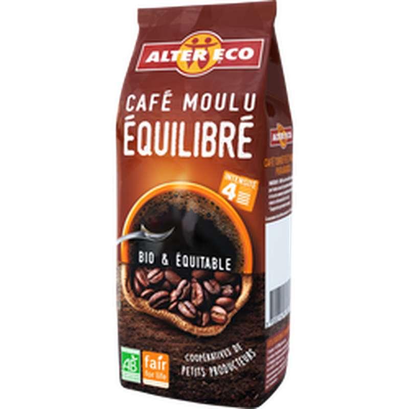 Café moulu équilibré Pur Arabica BIO, Alter Eco (250 g)