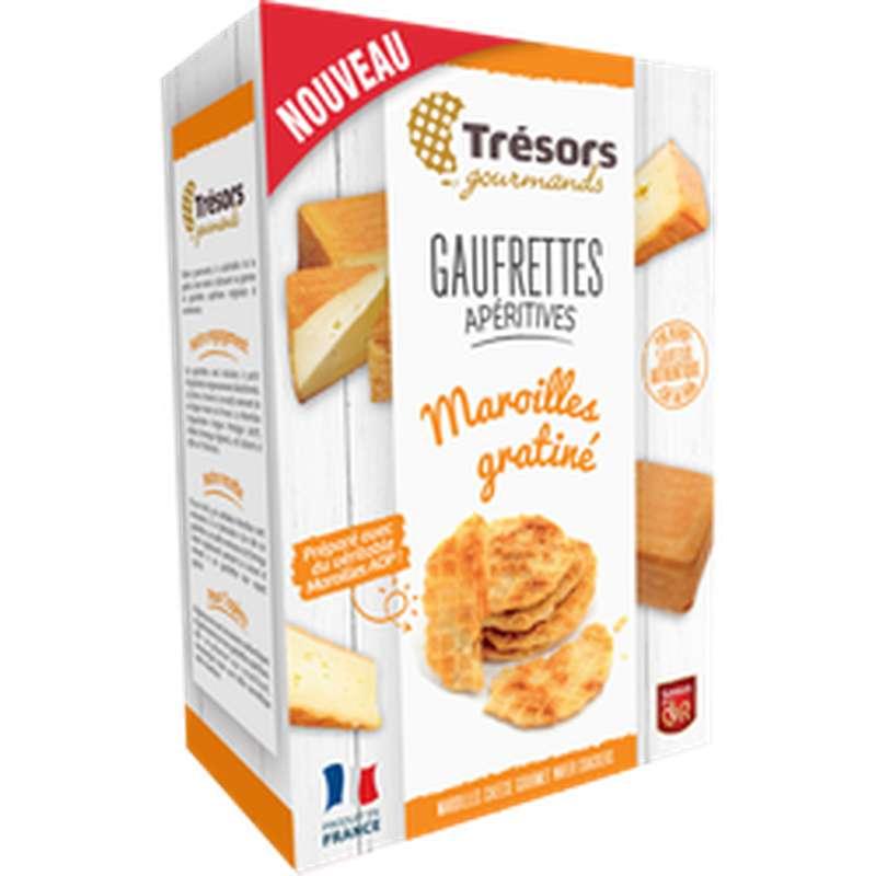 Gaufrettes apéritives maroilles Gratiné, Trésor Gourmand (60 g)