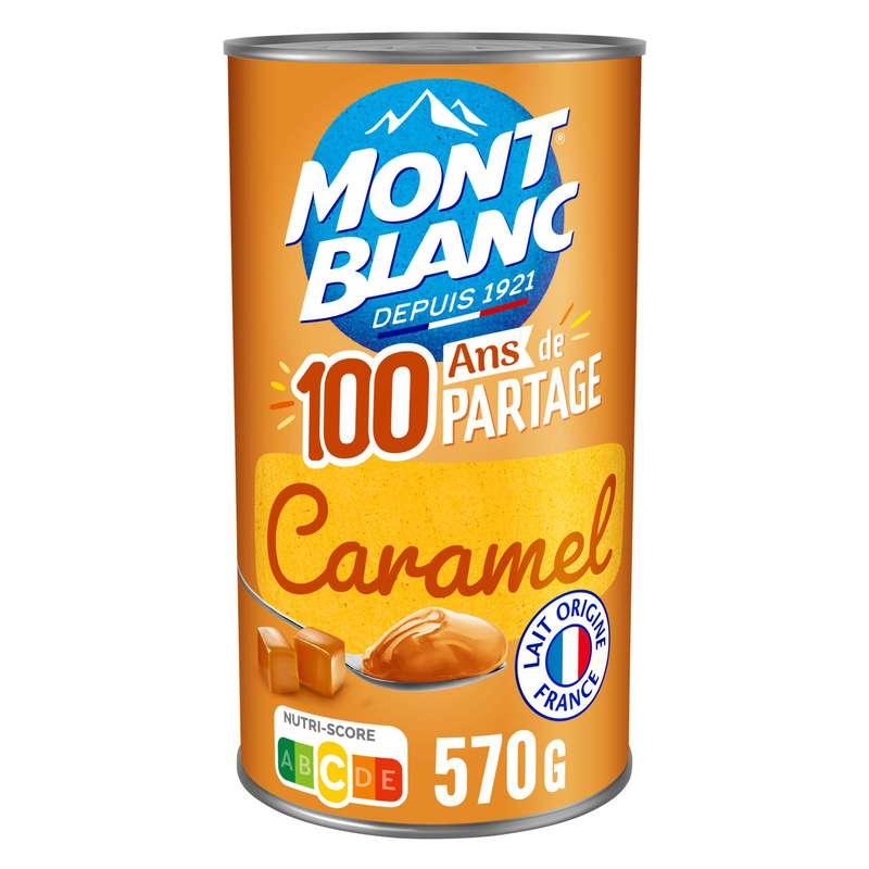 Crème dessert caramel, Mont blanc (570 g)