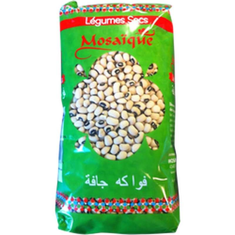 Haricots cornilles secs, Mosaïque (1kg)