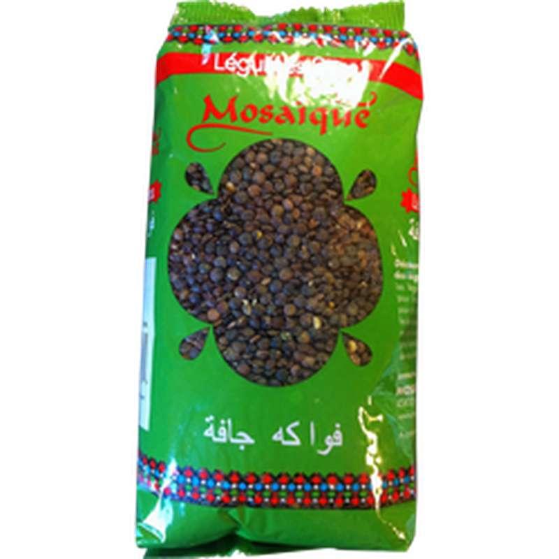 Lentilles vertes, Mosaïque (1kg)