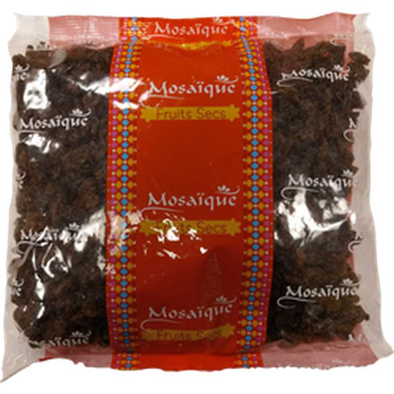 Raisin Sultanine brun, Mosaïque (500 g)