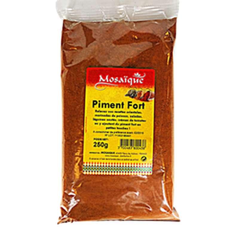 Piment fort moulu, Mosaïque (250 g)