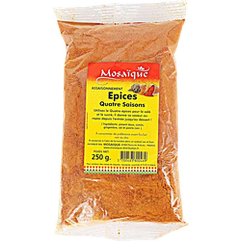 Quatre épices, Mosaïque (250 g)