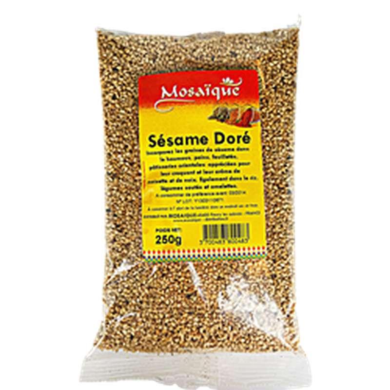 Sésame dorée, Mosaïque (250 g)