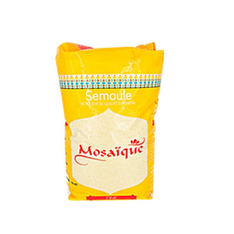 Semoule de blé dur fine, Mosaïque (1kg)