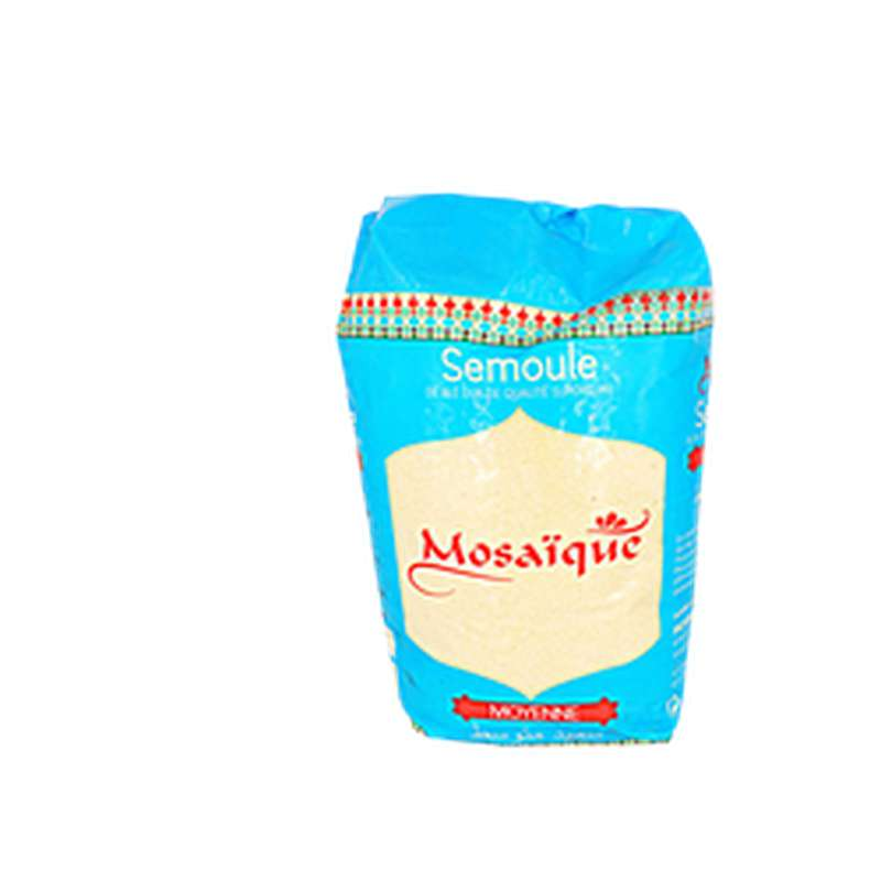 Semoule blé dur moyenne, Mosaïque (1kg)