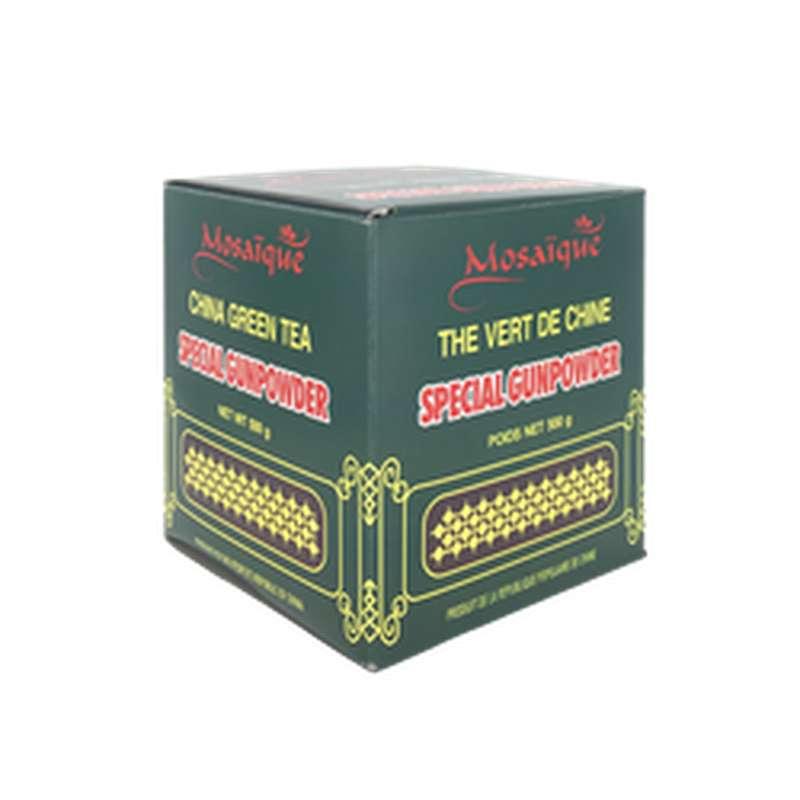 Thé vert spécial gunpowder, Mosaïque (500 g)