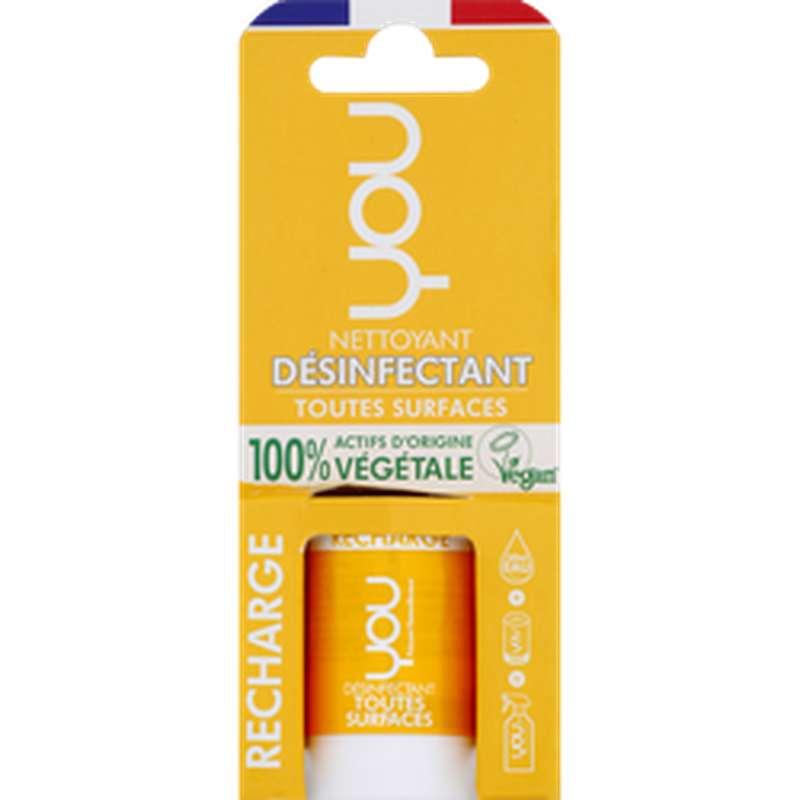 Nettoyant désinfectant multi-surfaces recharge, You (12 ml)