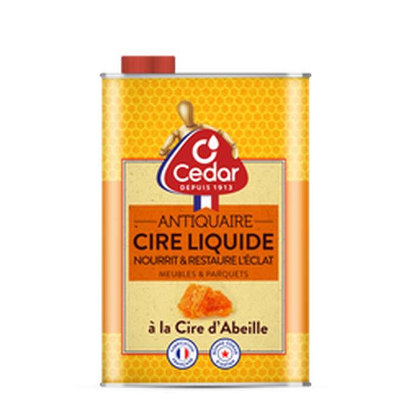 Cire liquide meubles et parquets, O'cedar (750 ml)