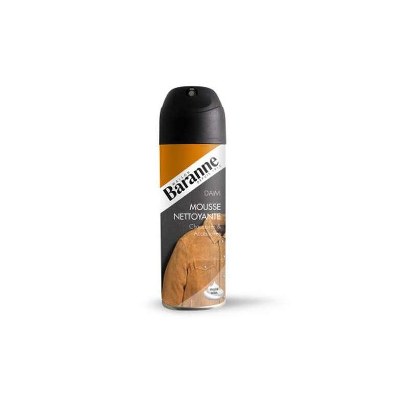 Mousse active nettoyante chaussures & accesoires daim, Baranne (200 ml)