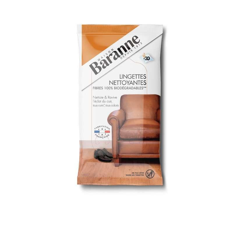 Lingettes nettoyantes meubles, Baranne (x 20)