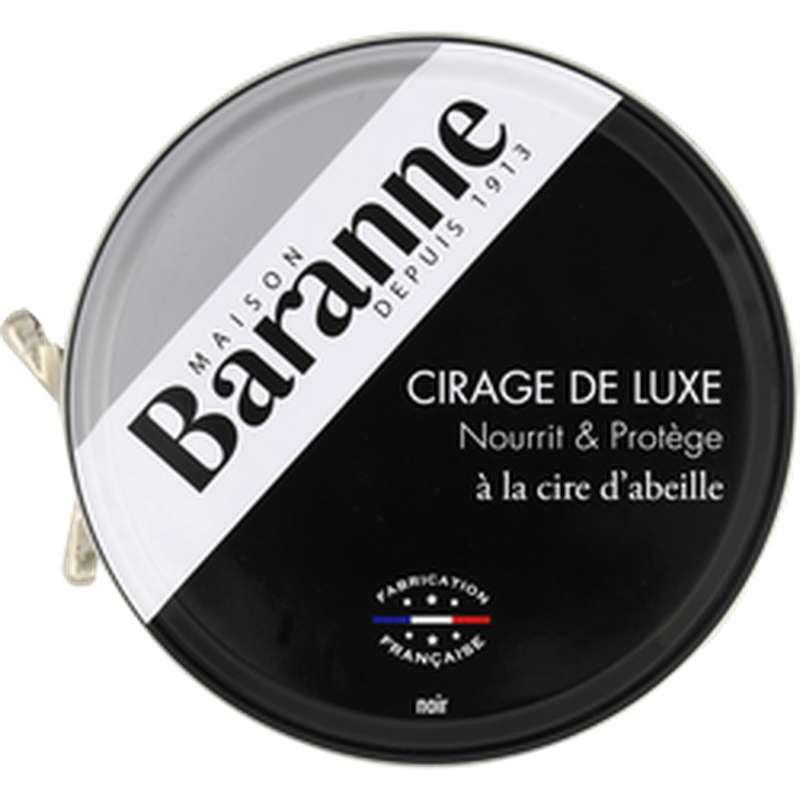 Cirage de luxe Noir, Baranne (75 ml)