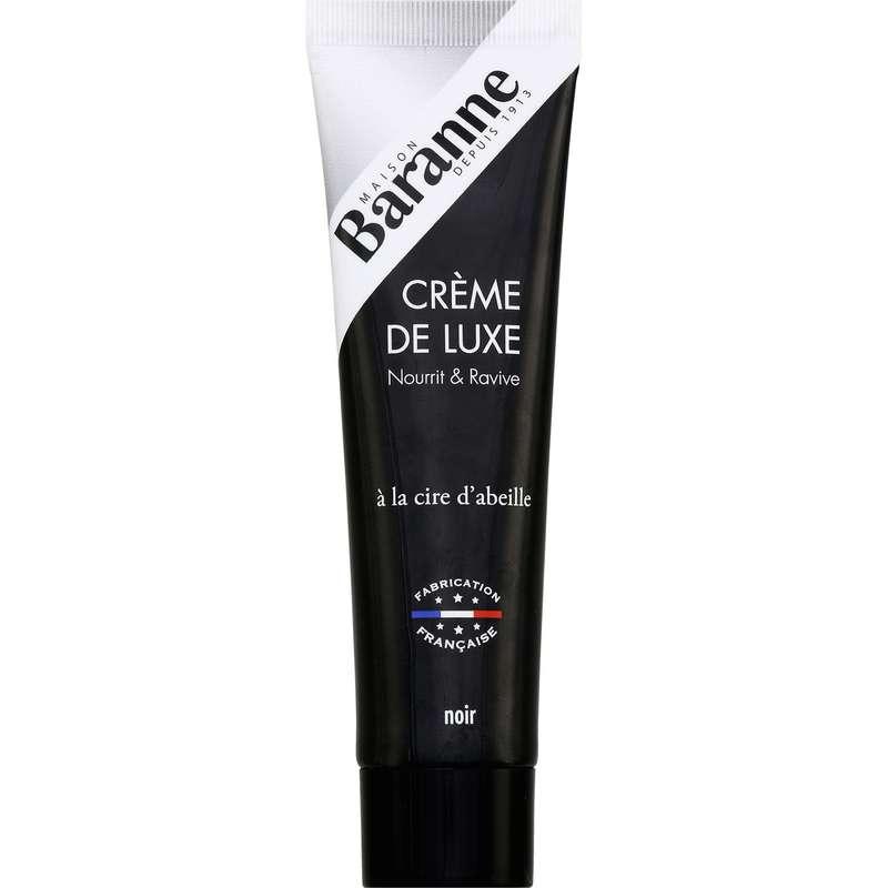 Cirage crème de luxe noir, Baranne (100 ml)