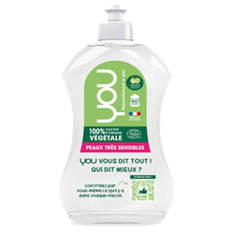 Liquide vaisselle main amande, YOU (500 ml)