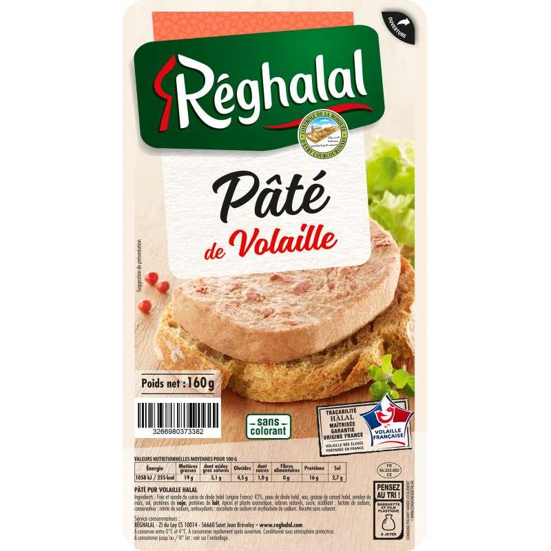 Pâté de volaille, Reghalal (160 g)