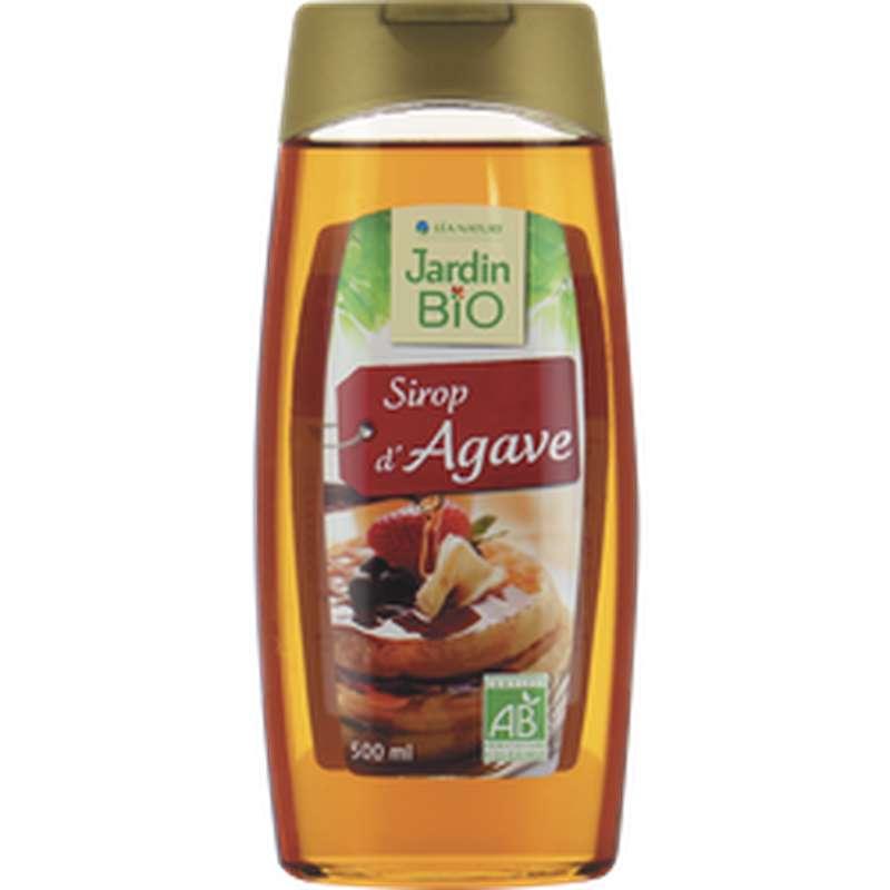 Sirop d'Agave BIO, Jardin Bio (500 ml)