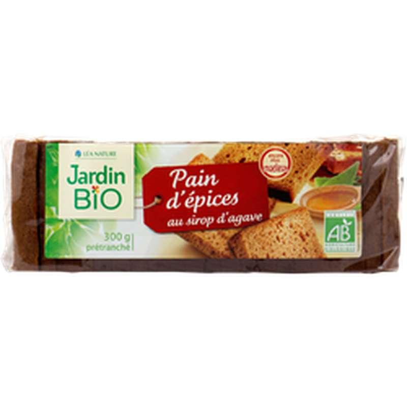 Pain d'épices au sirop d'agave BIO, Jardin Bio (300 g)