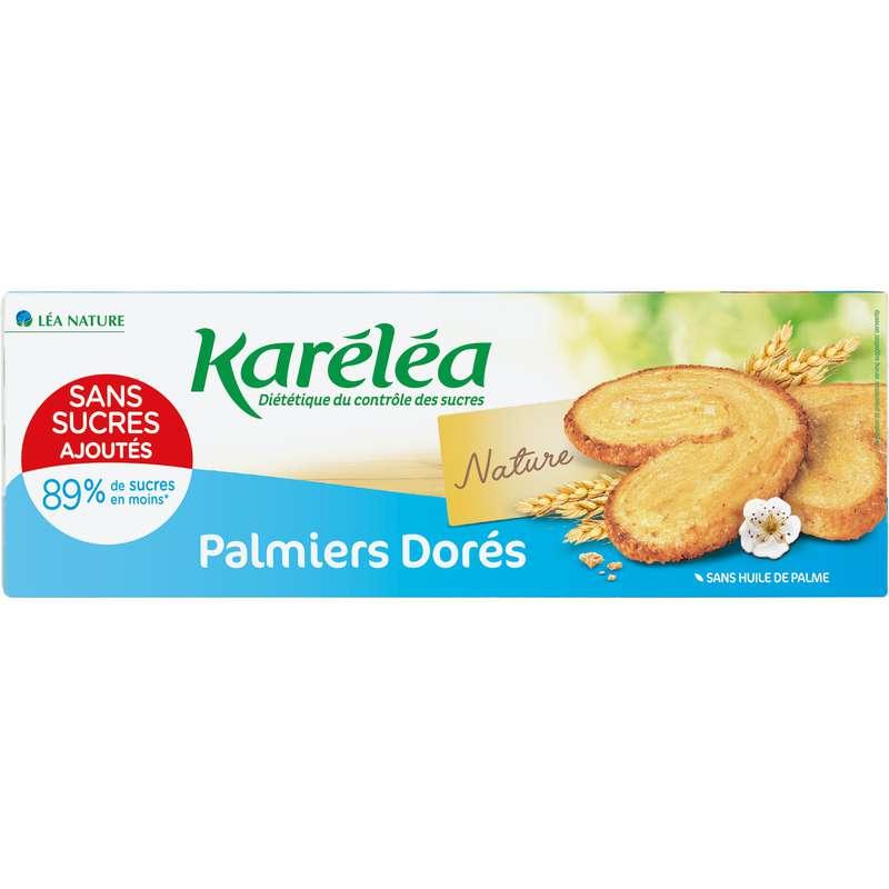 Biscuits palmiers sans sucres, Karelea  (100 g)