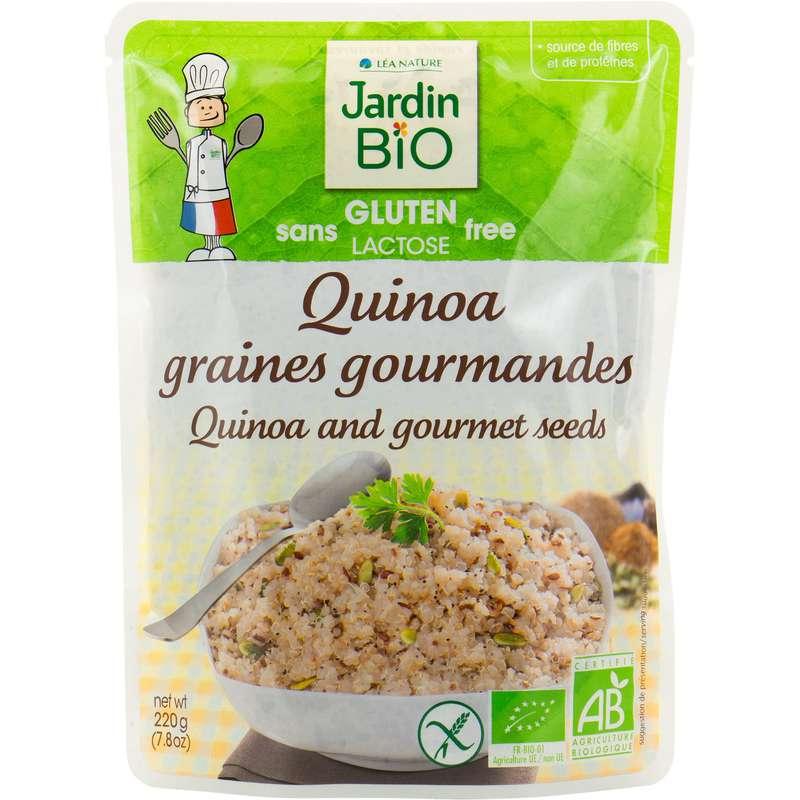 Quinoa sans gluten BIO, Jardin Bio (220 g)