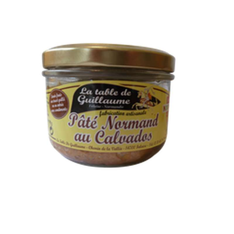 Paté Normand au calvados, La table de Guillaume (190 g)