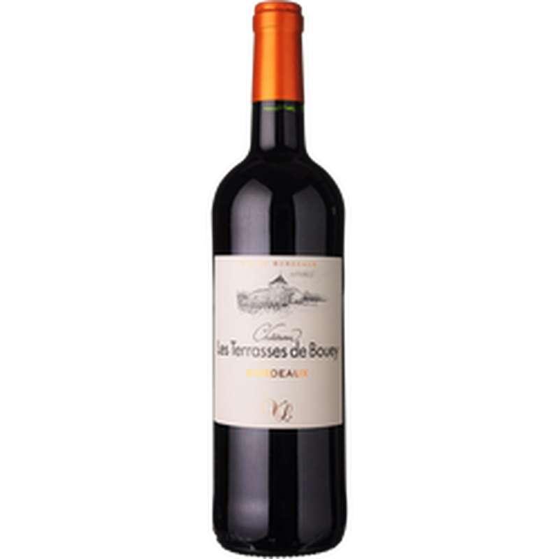 Bordeaux AOP rouge Château Terrasses de Bouey 2018 (75 cl)