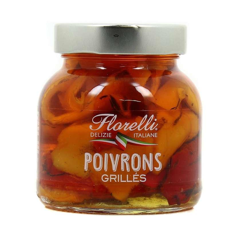Poivrons grillés, Florelli (280 g)